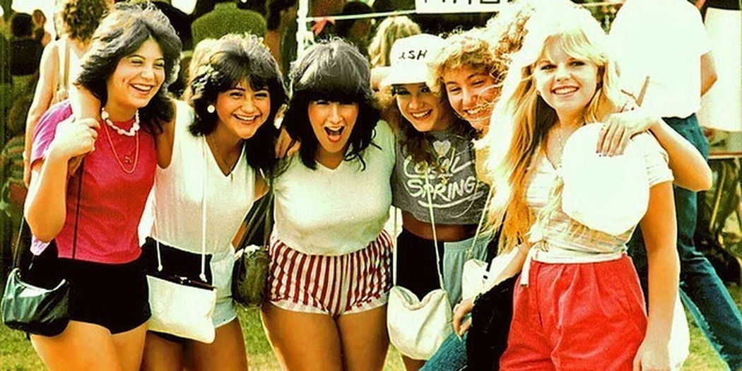 photo of girls 80's style № 1268