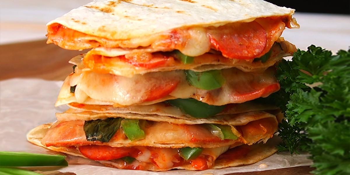 Pizzadillas Are Quesadillas for Pizza Lovers