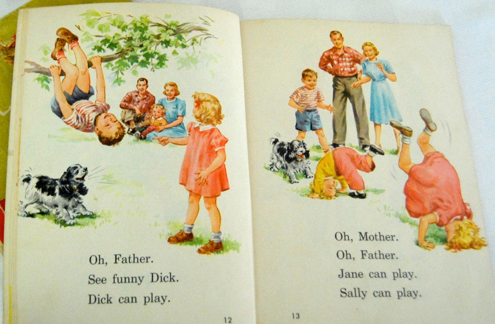 Dick and jane play