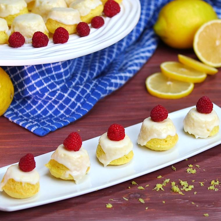 Shared Food Lemon Drop Cakes