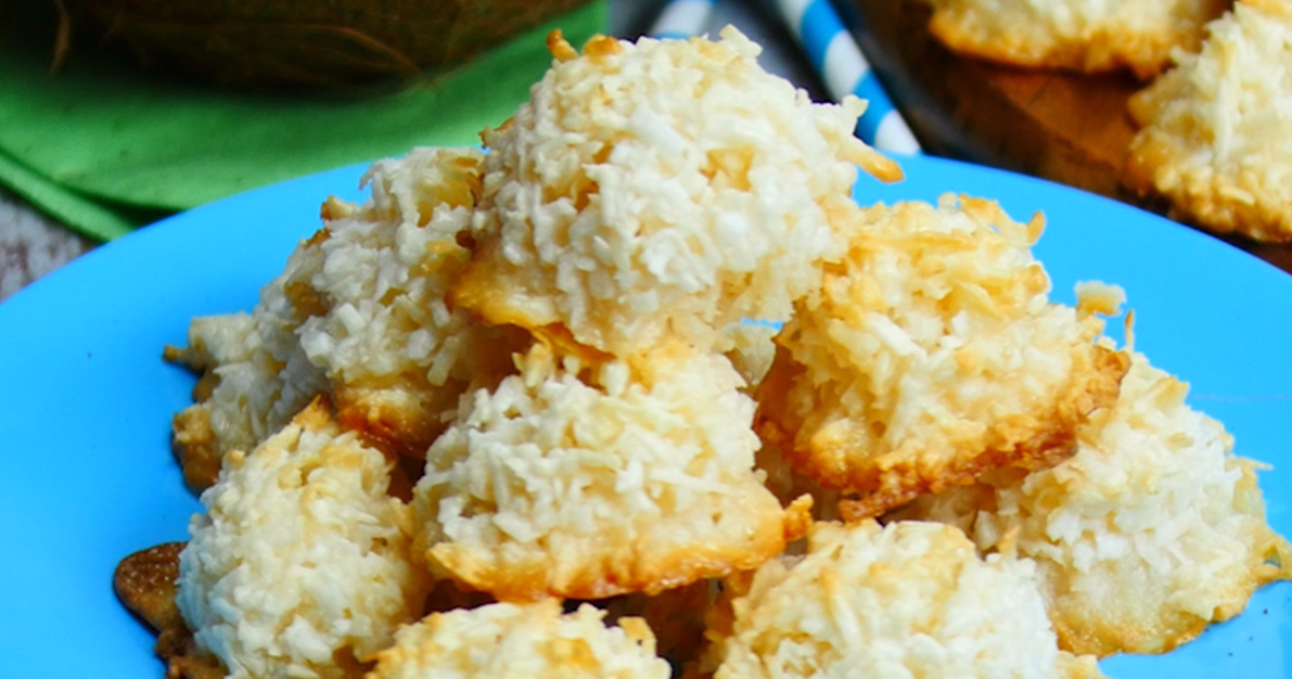 Coconut Macaroons Are Salty And Sweet