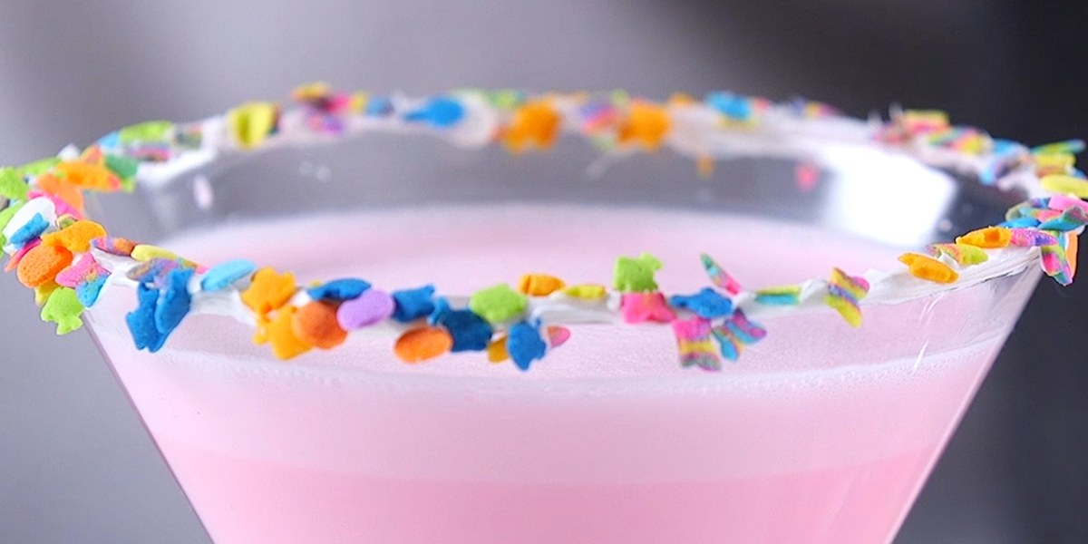 This Colorful Birthday Cake Martini Is The Ultimate Party Recipe