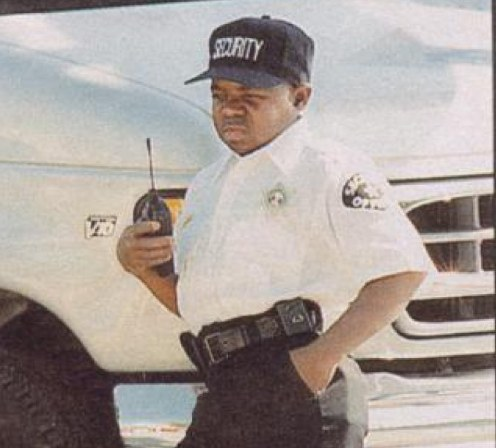 Image result for Gary Coleman security guard
