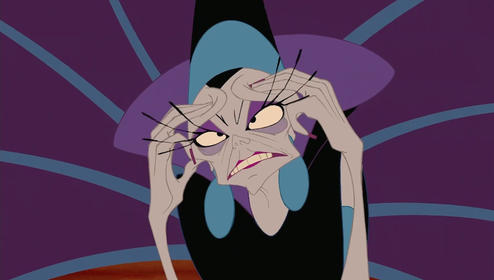 which disney villain are you most like on a monday