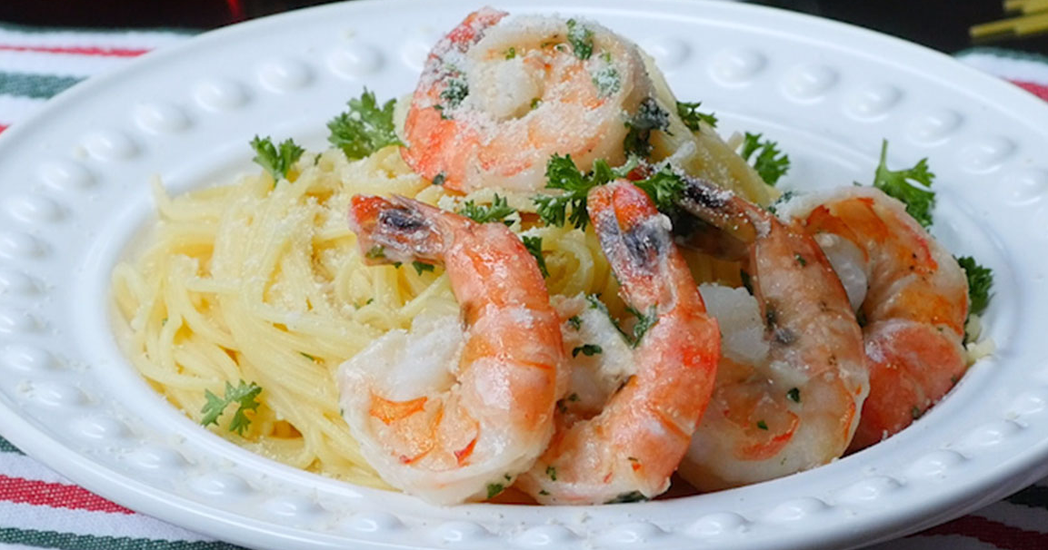 Enjoy Quick and Easy Lemon Garlic Shrimp Scampi In Only 10 Minutes!