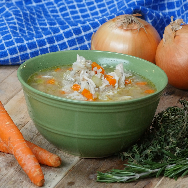 Slow Cooker Chicken & Wild Rice Soup Will Warm You up on ...