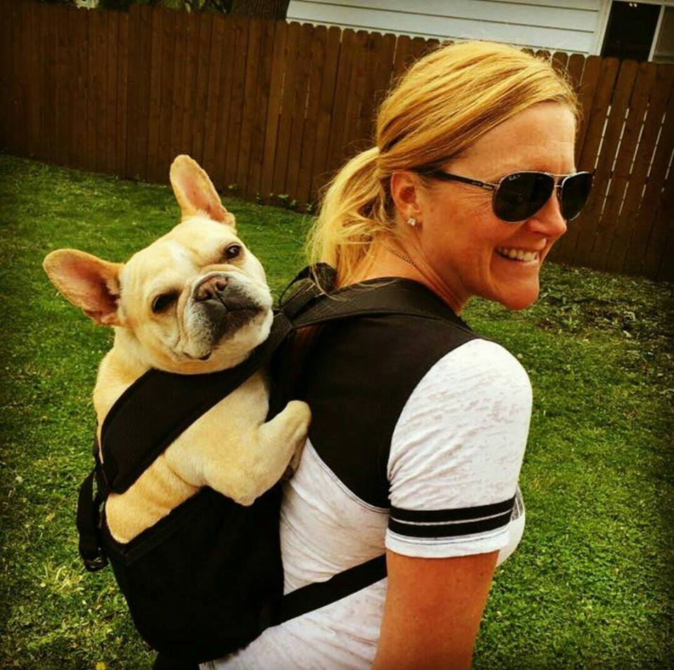 Would You Want To Carry Your Dog Around On Your Back