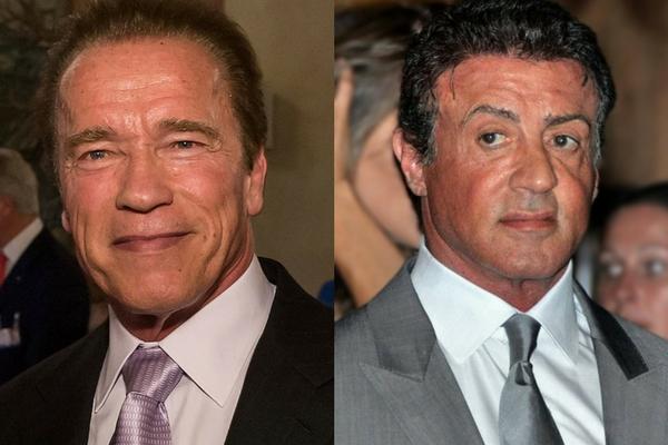 Arnie Vs Sly