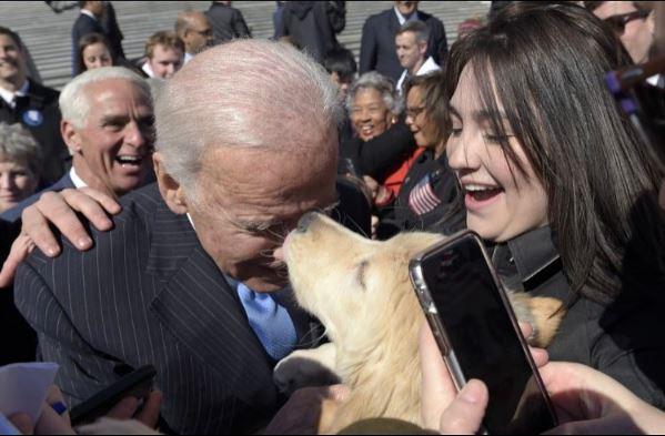 Biden Kiss