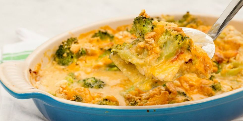 chicken broccoli rice cheese casserole