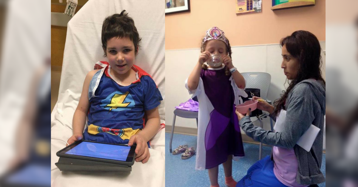 These Hospital Gowns Are Designed To \'Bring Hope\' To Kids Everywhere