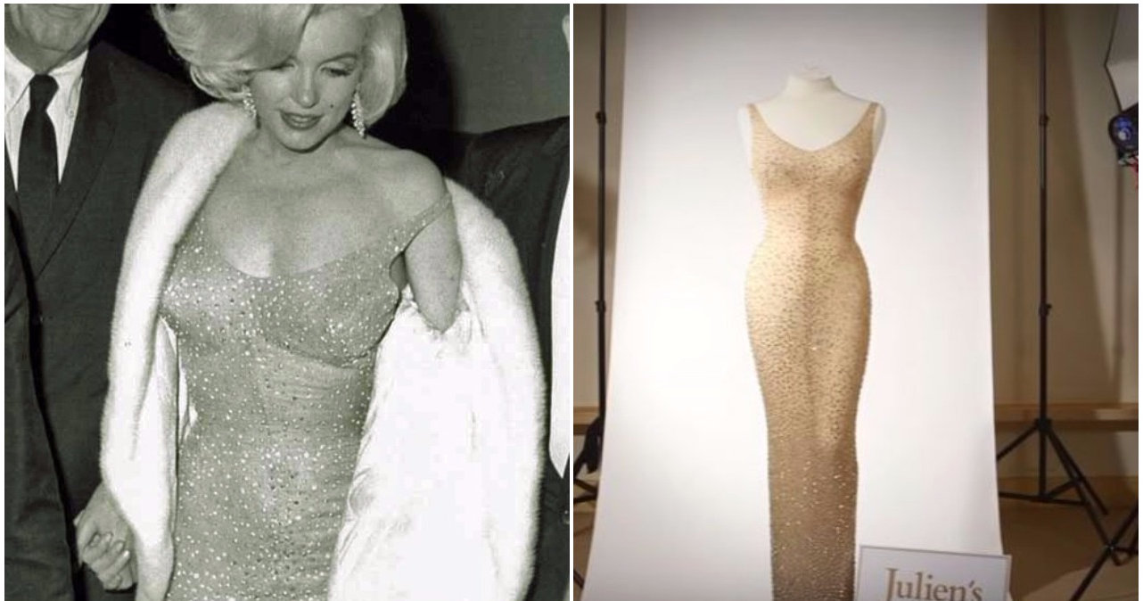 Remember Marilyn Monroe\'s Iconic Dress? It Sold At Auction For A ...