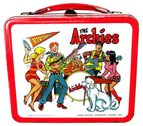 Image result for lunch boxes from the 60s