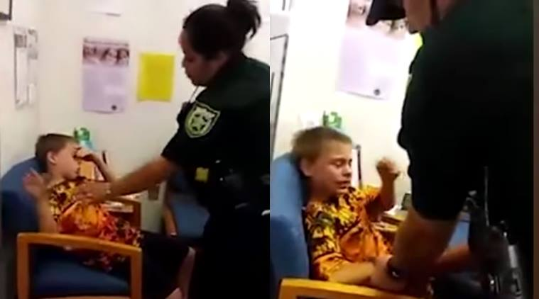 Autistic Boy Arrest