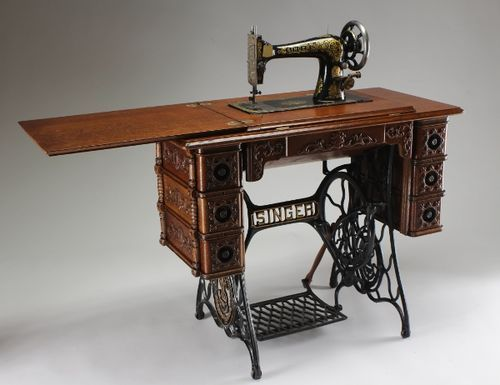 Used Sewing Machine Table.There Used To Be One Of These In Every Home But Kids Today