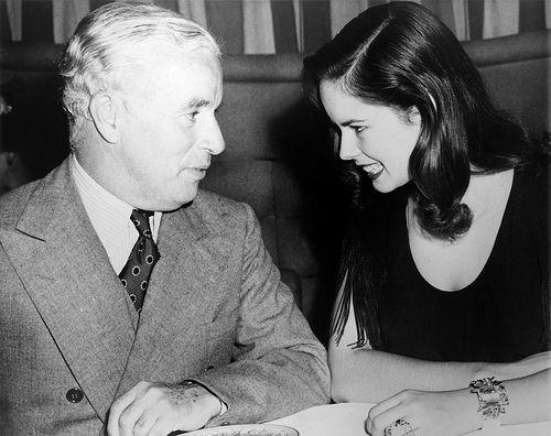 Oona and Chaplin