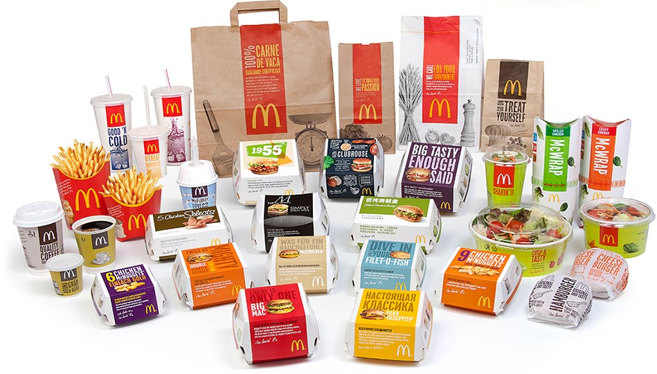 International availability of McDonald's products