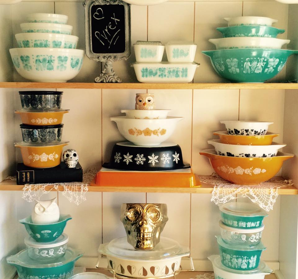 Your Vintage Pyrex Collection Could Be Worth A Fortune