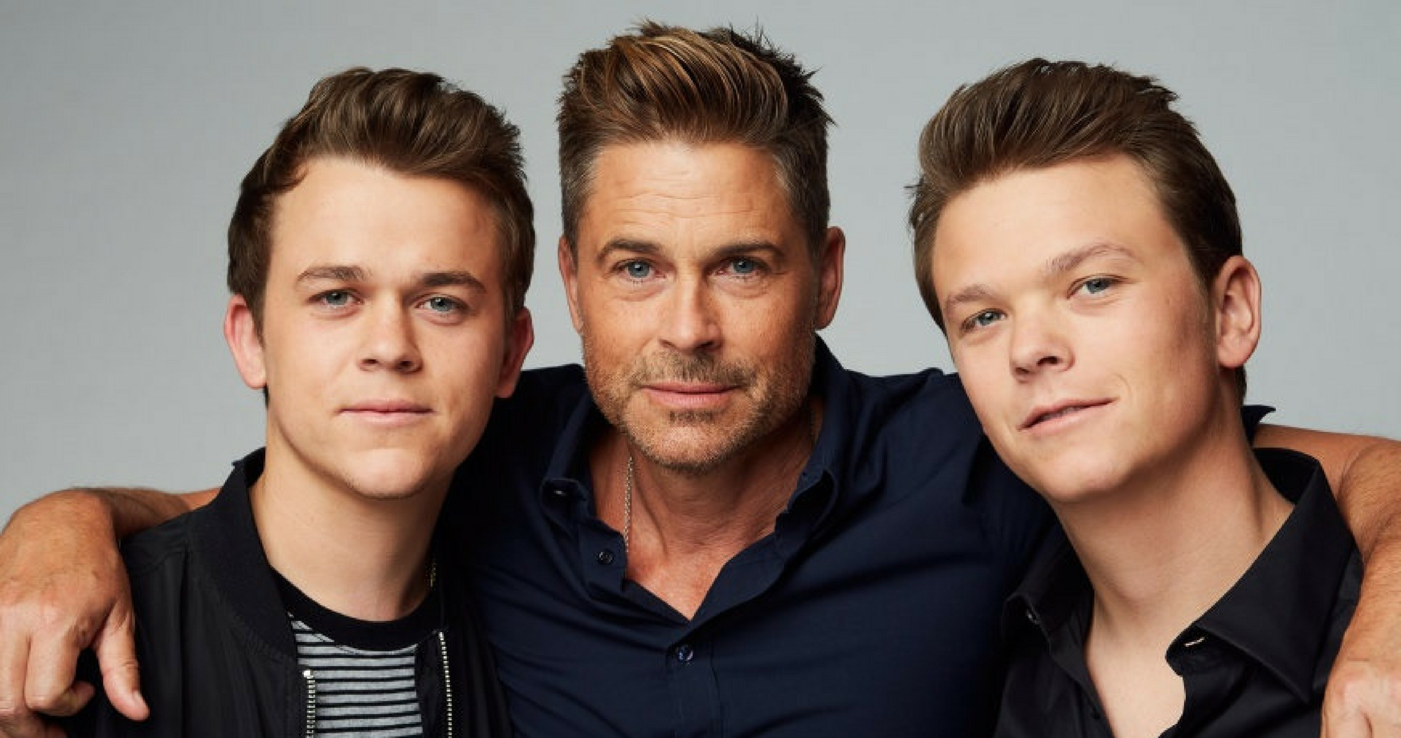 Rob Lowe And His Sons ...