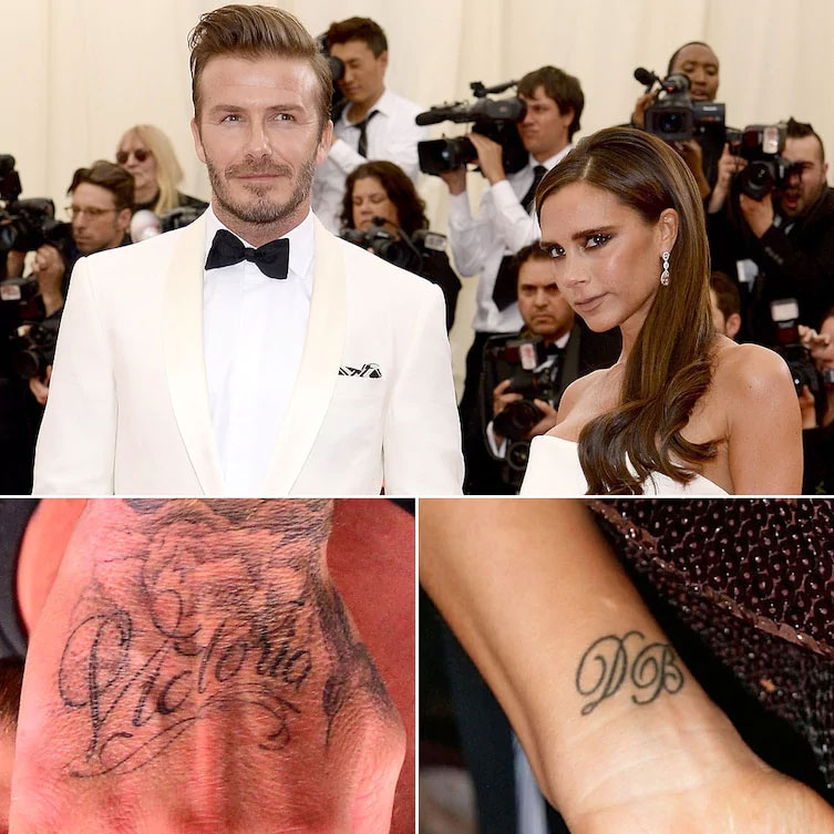 10 Celebrities You Didn't Know Had Matching Tattoos
