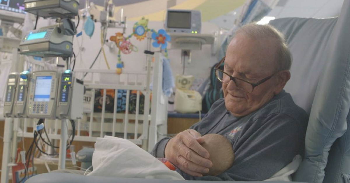 Selfless Grandpa Makes Sure These Sick Kids Never Have