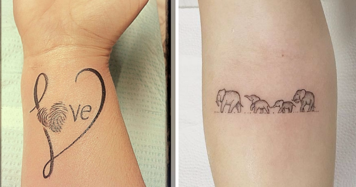 11 tattoos to show your love for your kids that are more
