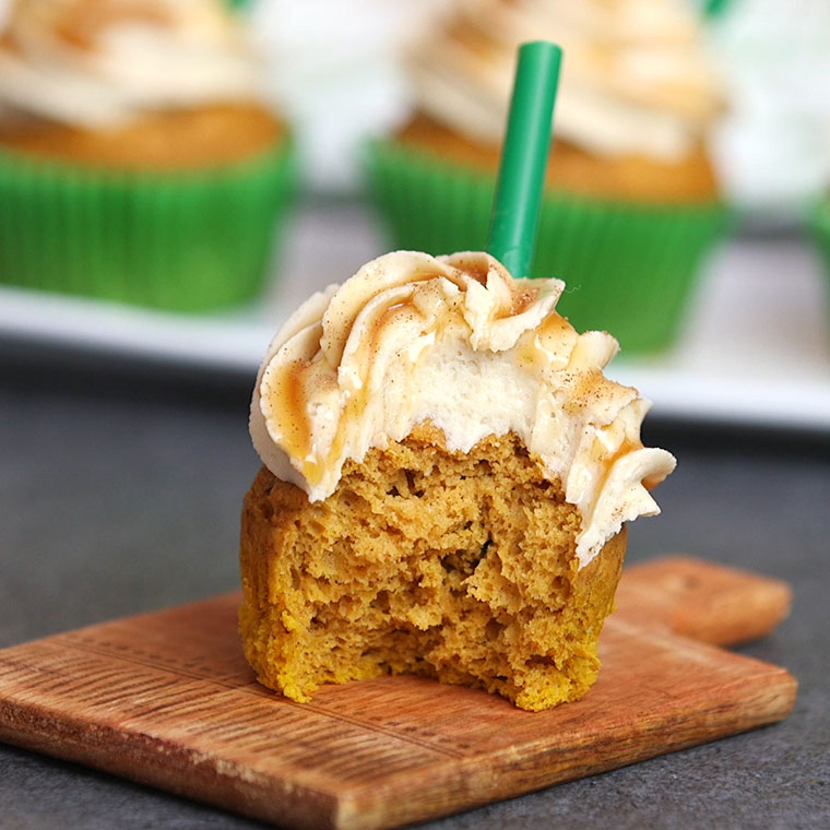 How To Make Pumpkin Cupcakes With Spice Cake Mix