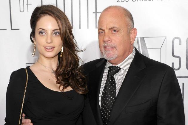 Billy Joel and daughter Alexa Ray