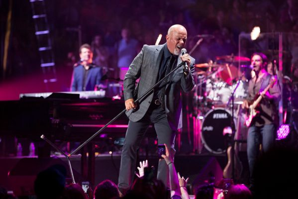 Billy Joel performing at Madison Square Garden
