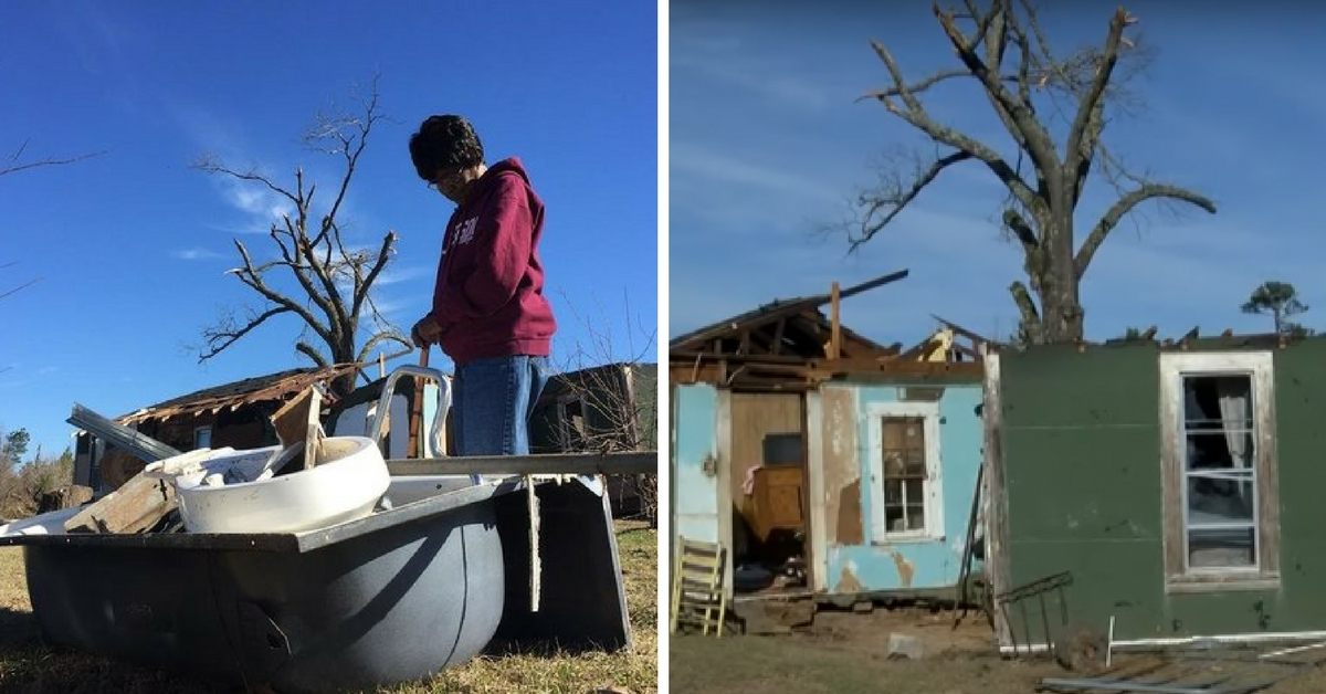 A Tornado Sent A 75-Year-old Woman Flying Through The Air ...