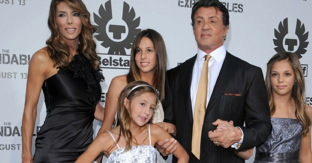 """Sylvester Stallone Raves About His """"Wonderful"""" Daughters ..."""