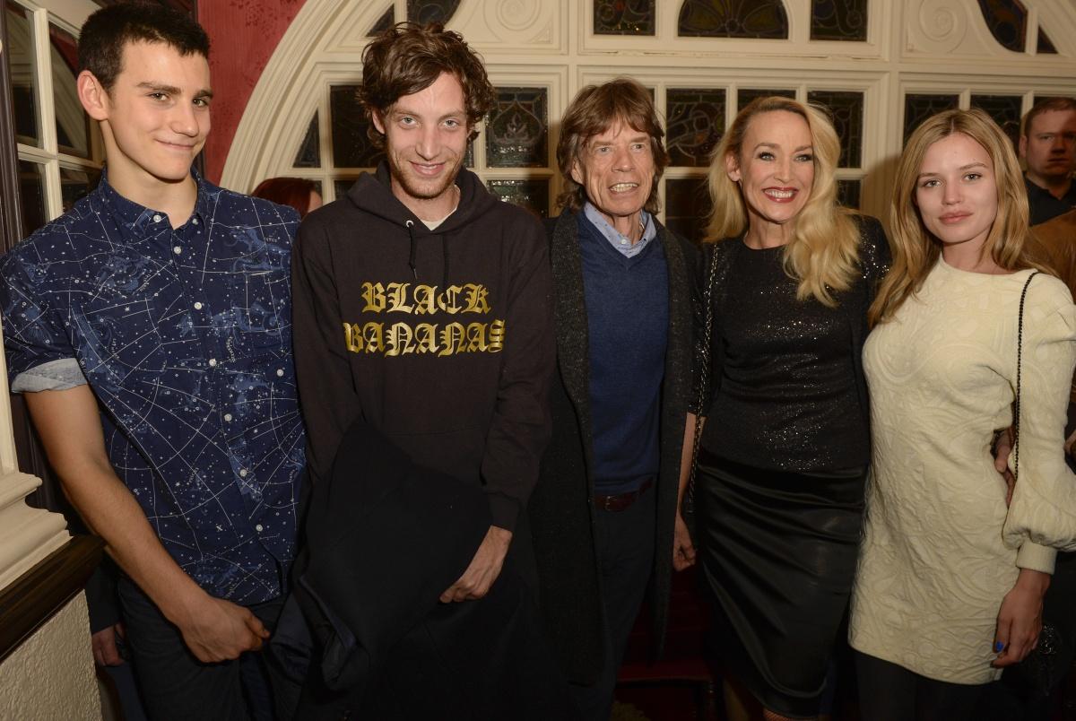 Mick Jagger family