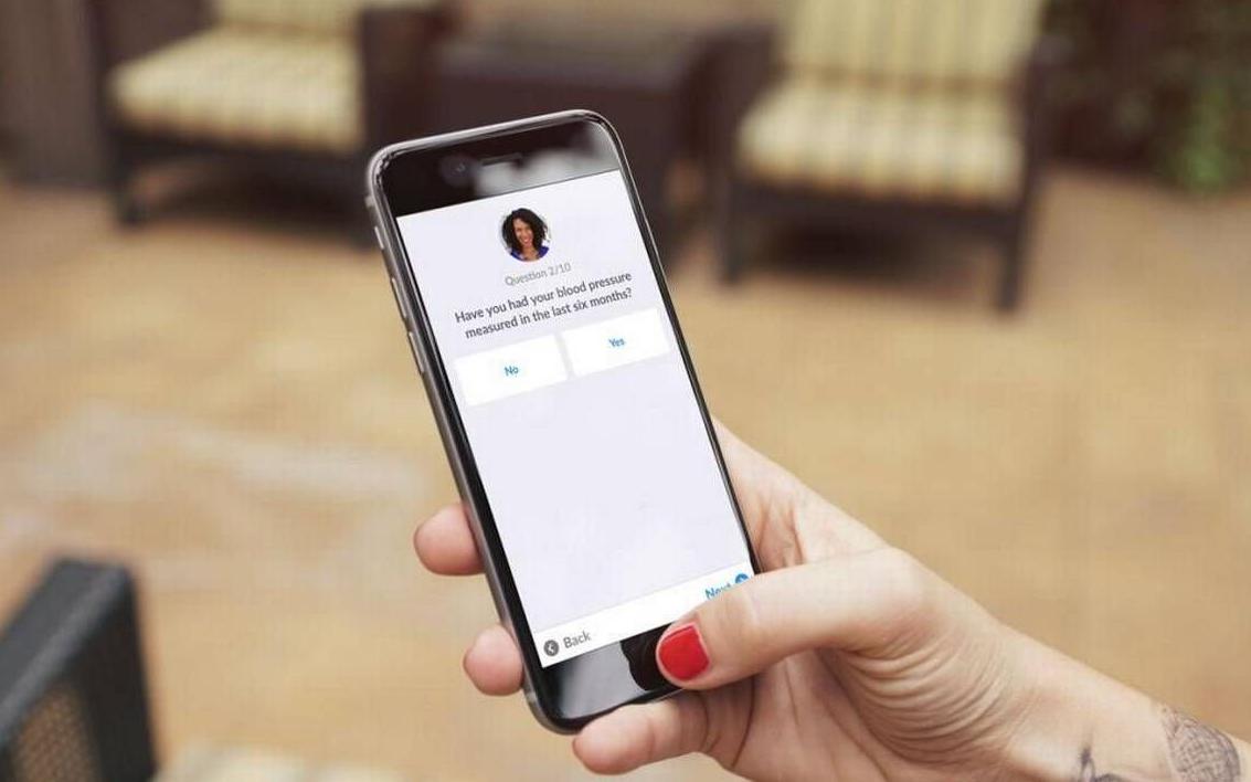 Nurx app on phone