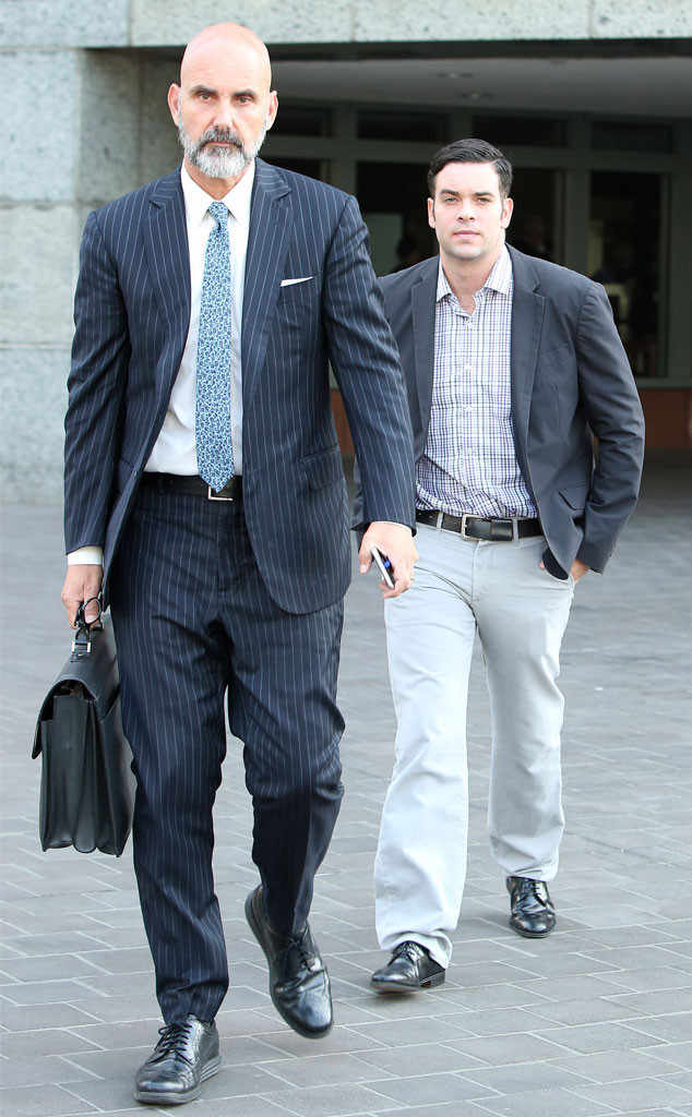 Mark Salling heads to court