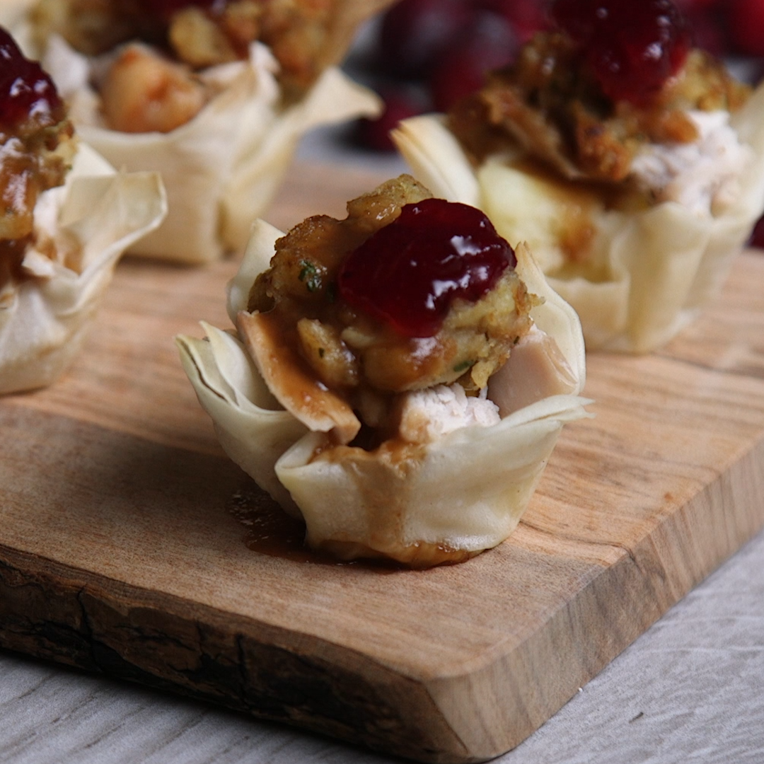 Up Your Thanksgiving Appetizer Game With These Mini Turkey