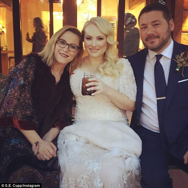 Meghan Mccain Wears Marchesa Wedding Dress: Meghan McCain's Wedding Had A Western Theme And The Photos