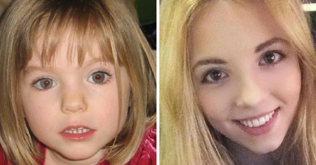 Photo of girl not Madeleine McCann