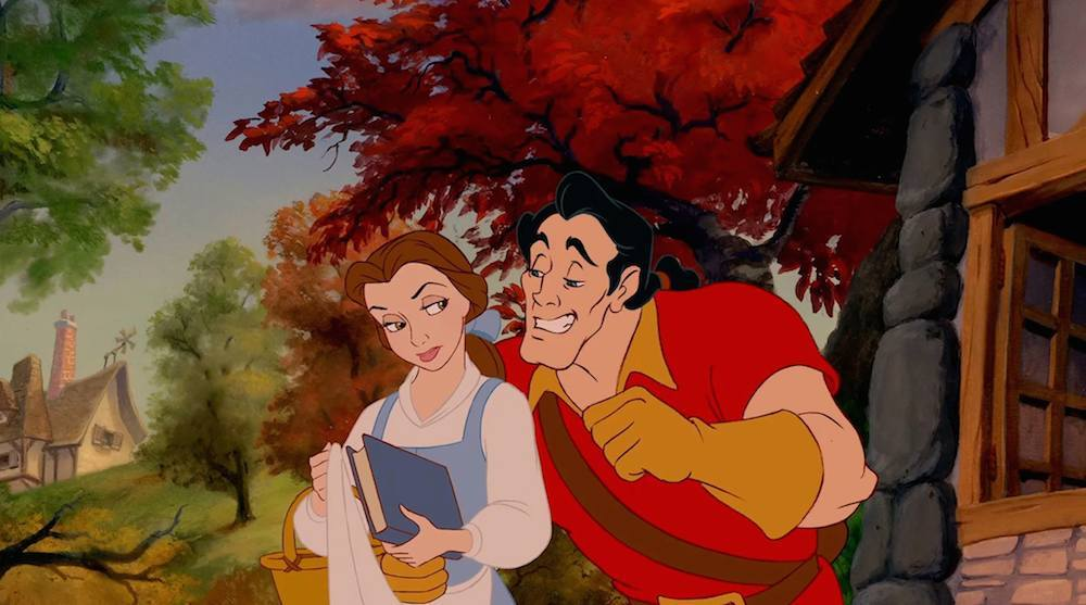 Belle and Gaston