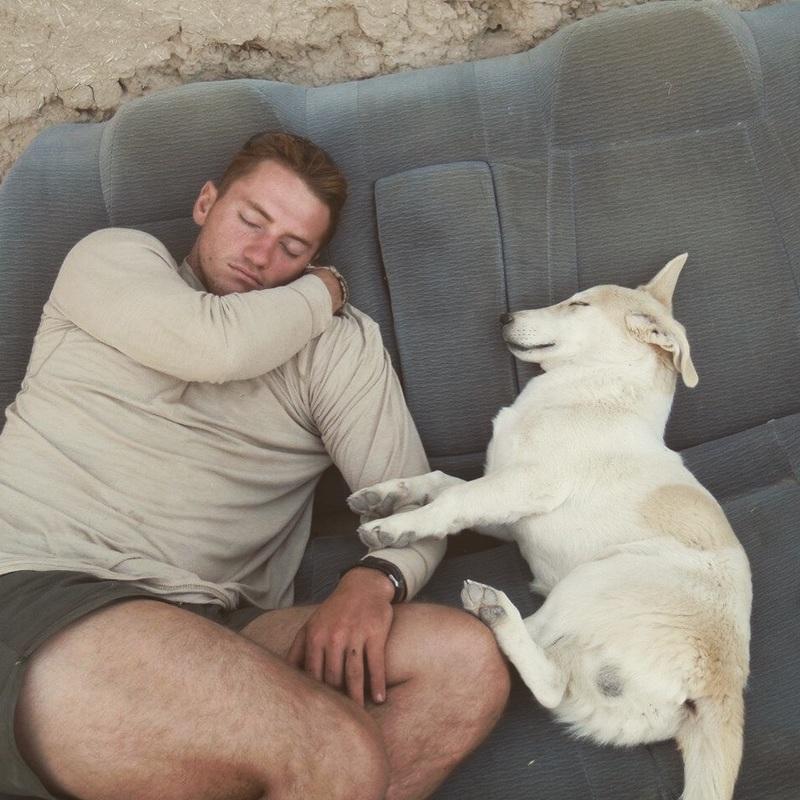 Fred and Craig Sleeping