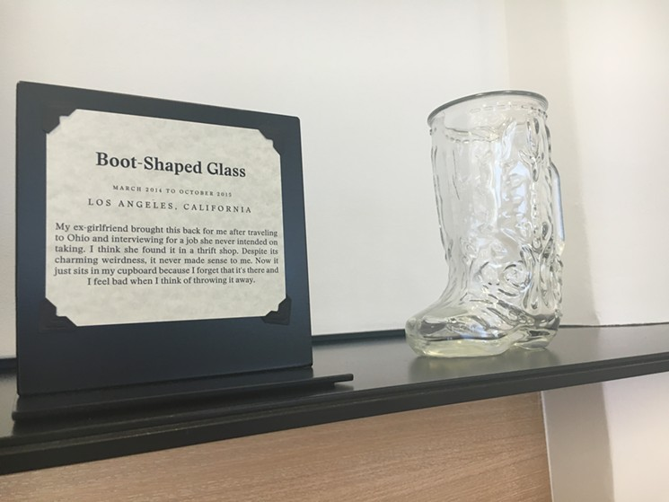 Boot Shaped Glass