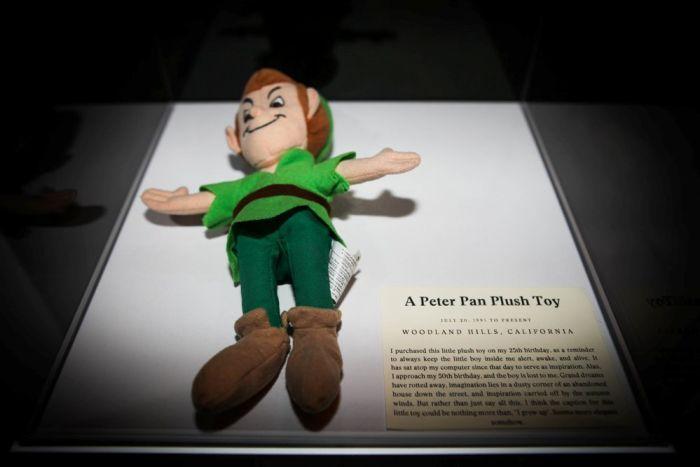 Peter Pan plush toy