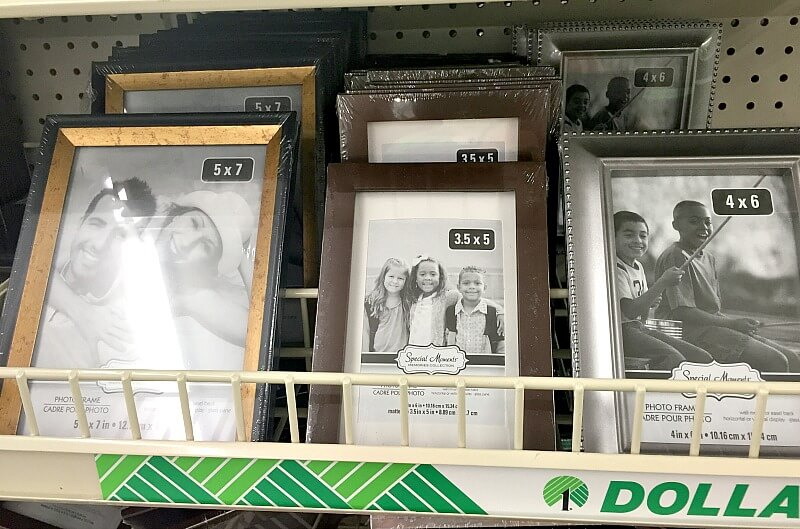 we all love our family but it doesnt mean we love them less by putting their photograph in a cheaper frame many dollar stores can help you stock up on - Dollar Picture Frames