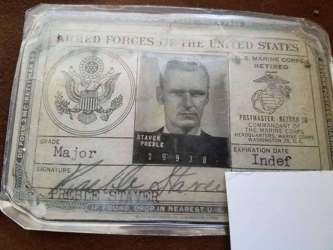 Preble Staver identity card