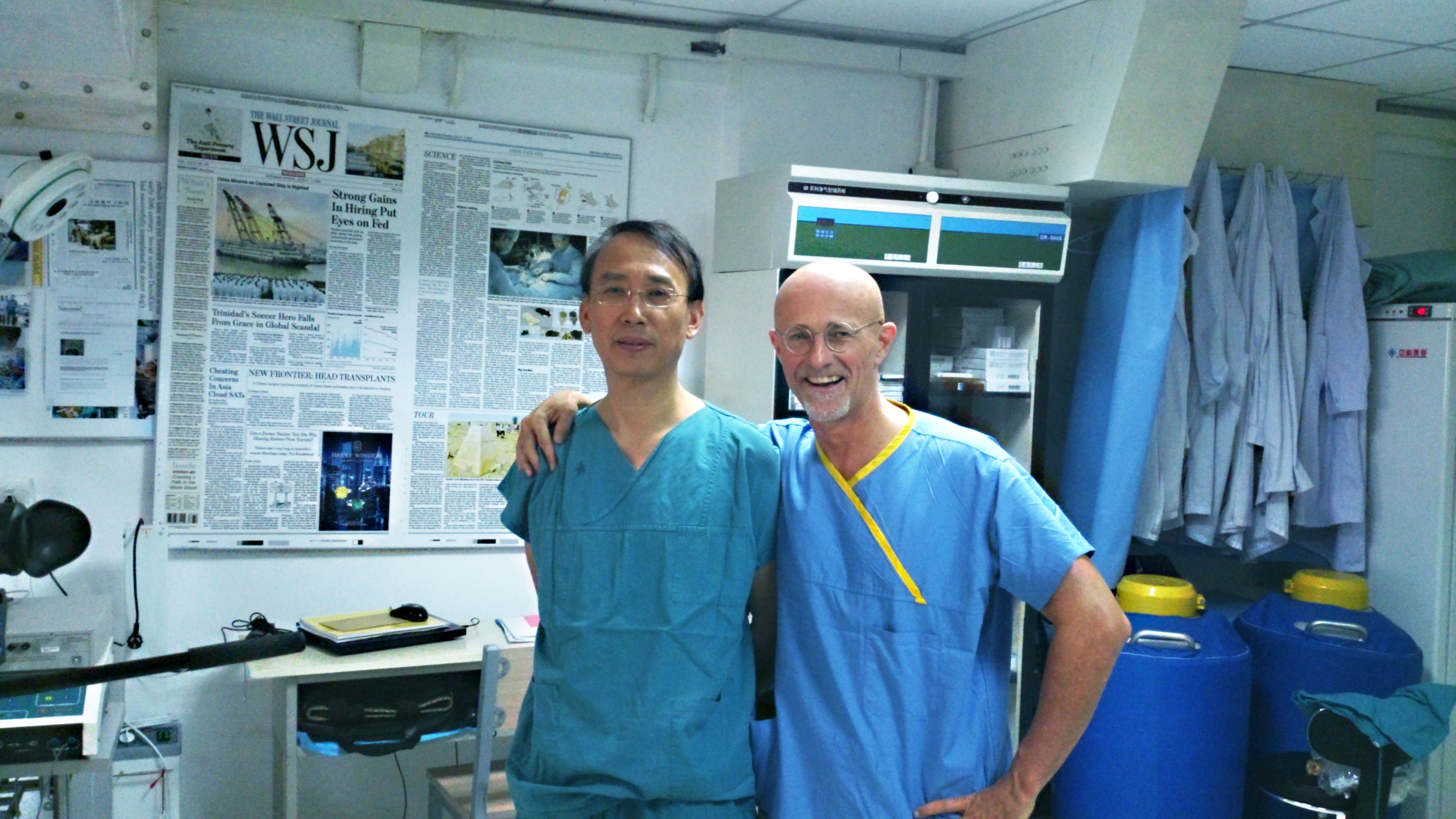 Dr. Xiaoping Ren and Dr. Segio Canavero