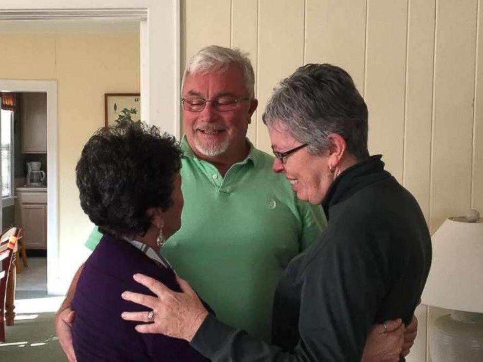 Slyvia Kewer reunites with her siblings