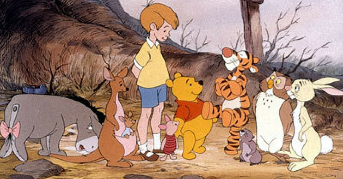 Each Winnie The Pooh Character Was Written To Represent A ...