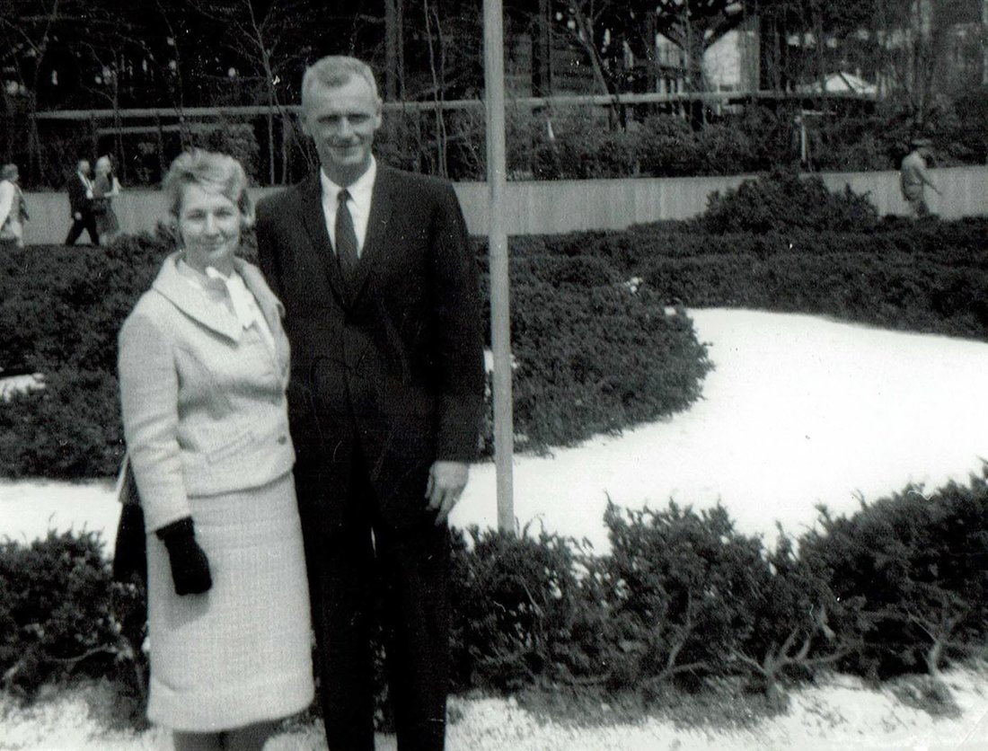 Isabell and Preble Staver