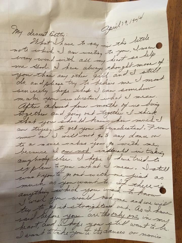 Walter's love letter