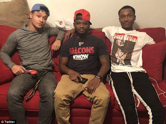Kieron, Vincent and Christian