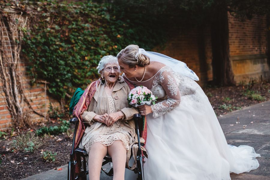 Keely Crimando and her grandmother